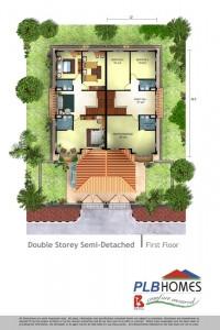 Double Storey Semi D, 1st Floor