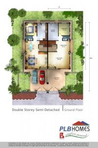 Double Storey Semi D, Ground Floor