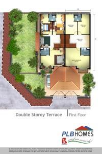 Double Storey Terrace, First Floor