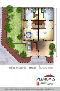 Double Storey Terrace, Ground Floor